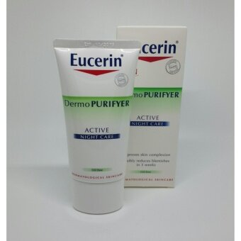 Harga Eucerin Dermo Purifyer Active Night Care 50 ml