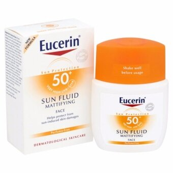 Eucerin Sun Fluid Mattifying Face SPF50/PA++ 50 ml