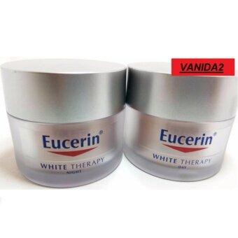 Eucerin White Therapy Day Cream UVA/UVB SPF30 50ml & Eucerin White Therapy Night Cream 50ml