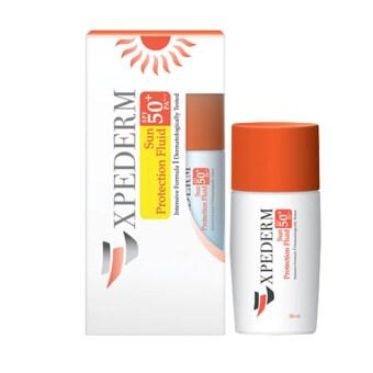 Expederm Sun Protection Fluid SPF 50+ PA+++ 30ml กันแดดเนื้อบางเบา เหมาะสำหรับผิวแพ้ง่าย