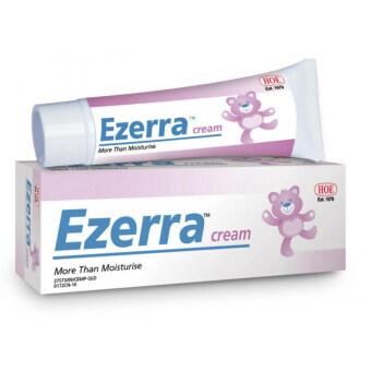 Ezerra Cream (25g) ครีมทาผิวอักเสบ สำหรับผิวแพ้ง่าย ผดผื่น ผื่นแพ้(1หลอด)
