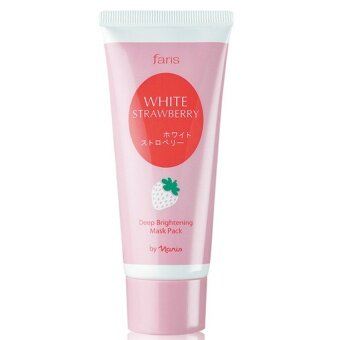 อยากขาย Faris White Strawberry Deep Brightening Mask Pack 60กรัม