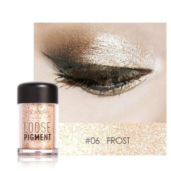 Fashionable Glitter Eyeshadow Beauty Eyes Pigment Powder Lips LooseMakeup Tool (#6) - intl