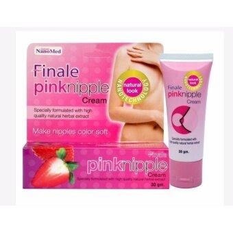 รีวิวพันทิป Finale Pink Nipple Cream ฟินาเล่ พิงค์ นิปเปิ้ล ครีมหัวนมชมพู AHA ธรรมชาติ 30 กรัม 1 หลอด