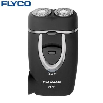 โปรโมชั่นพิเศษ Flyco professional Sale Rushed Shaving Men Electric RazorGenuineMatte Surface Rechargeable Electric Rotary Men Shaver FS711 - intl