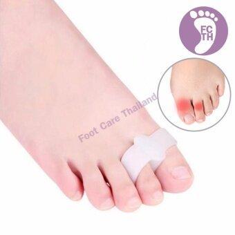 Foot Care Thailand ซิลิโคนคั่นนิ้วหัวแม่เท้า กับนิ้วชี้ 2 คู่ - 4