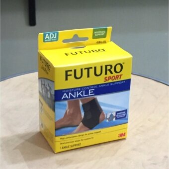 Futuro Sport อุปกรณ์พยุงข้อเท้า ฟูทูโร่ Ankle Support ปรับกระชับได้และระบายความร้อน