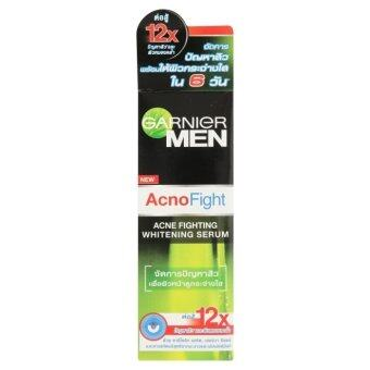 GARNIER Men Acno Fight Acne Fighting Whitening Serum (20 ml.)