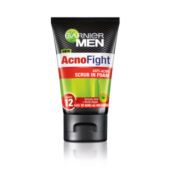 GARNIER Men AcnoFight Scrub in Foam 100 ml