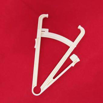 Gion - เครื่องมือวัดอัตราส่วนไขมันในร่างกาย Body Fat Caliper(สีขาว) - 4