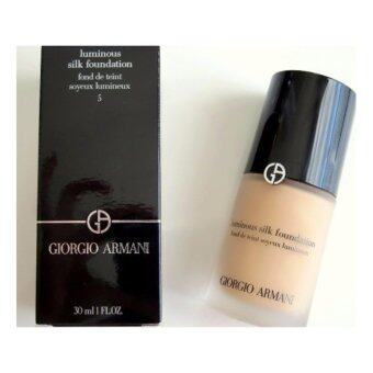 Harga Giorgio Armani Luminous Silk Foundation 30ml. # 5 medium/neutral
