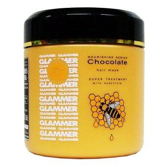 GLAMMER โคลนหมักผม ช็อกโกแลตมิ้นท์แอนด์ฮันนี่ - 500 มล.