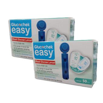 อยากขาย Glucochek Easy เข็มสำหรับเจาะเลือด 50ชิ้น/กล่อง (2กล่อง)