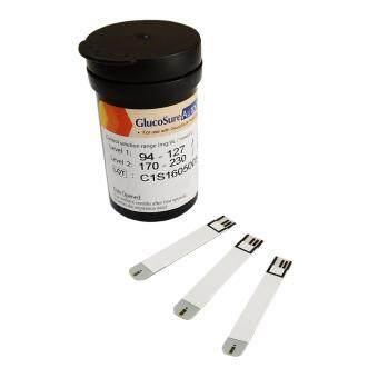 Glucosure Autocode Test Strip แผ่นตรวจน้ำตาลในเลือด 1 กล่อง (25 ชิ้น/กล่อง)