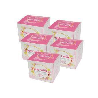 Gold Wink Sunscreen Cream ครีมกันแดดโกลด์วิ้งค์ SPF50 PA+++ 5 กล่อง (7 กรัม/กล่อง)