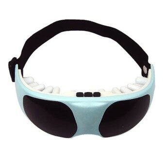 2560 Health Electric Relax Vibration Release Alleviate Fatigue Eye Care Massager (Light Blue)
