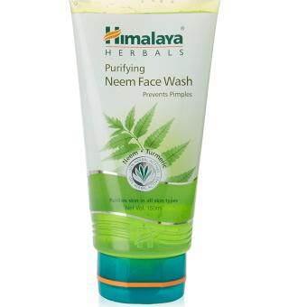 Himalaya Herbals Purifying Neem Face Wash 150ml. เจลล้างหน้าลดสิว