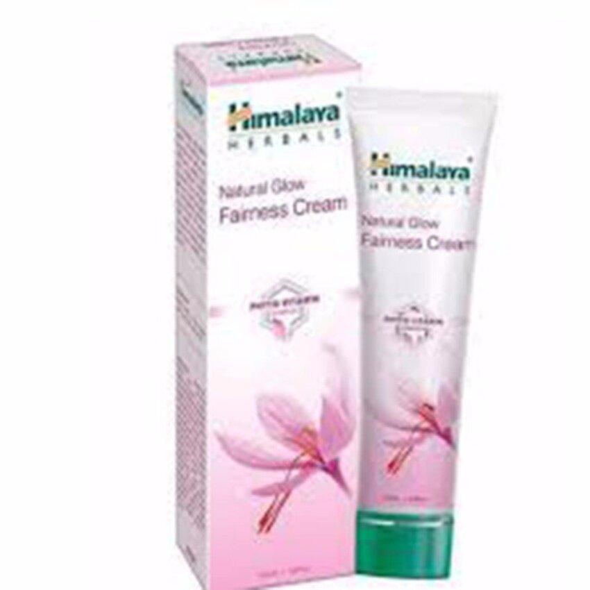 ครีมปรับสีผิวขาวกระจ่างใส himalaya natural glow fairness cream 50 ml.