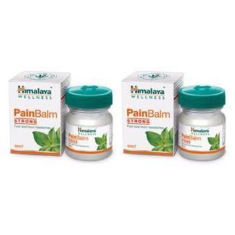 2560 แพคคู่ Himalaya Wellness Pain Balm 10 g.บาล์มกลิ่นมินต์