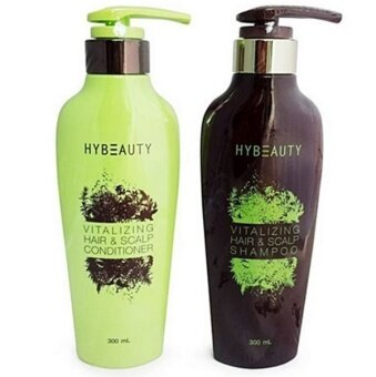 Harga Hybeauty Vitalizing Hair & Scalp Conditioner 1 ขวด + shampoo 1 ขวด