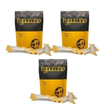 Hylife Hypuccinoกาแฟไฮปูชิโน กาแฟที่หอมนุ่มรส คาปูชิโน่ แคลอรี่ต่ำ บรรจุ10ซอง x (3 แพค)