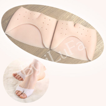 ราคา iLuFa ซิลิโคนถนอมหน้าเท้า แบบ1+4 เปิด สีเบจ (2 คู่)