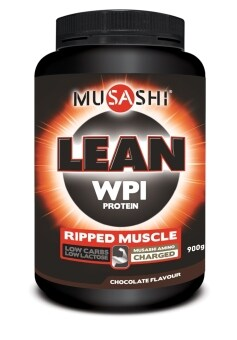 Harga Musashi Lean Whey Protein Isolate 900g - Chocolate