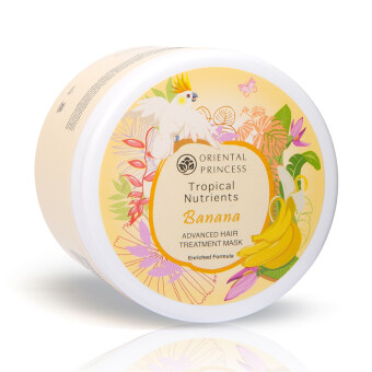 Harga ORIENTAL PRINCESS ทรีทเม้นท์มาส์ค Tropical Nutrients Banana Advanced Hair Treatment Mask Enriched Formula 160 g.