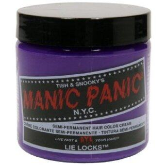 Harga MANIC PANIC CLASSIC CREAM SEMI PERMANENT HAIR COLOR CREAM (LIE LOCKS) 118 ml 1 Jar