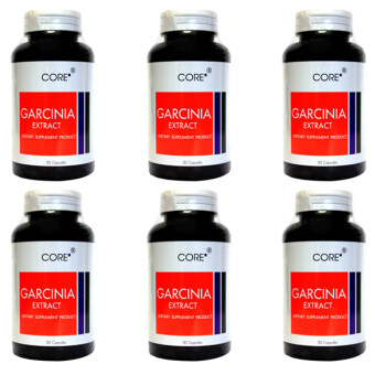 Harga Core Garcinia Extract 600 mg 50 แคปซูล x6ขวด