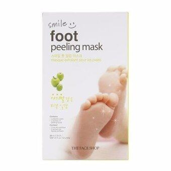 Harga THEFACESHOP SMILE FOOT PEELING MASK