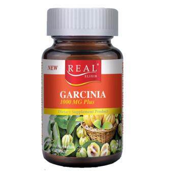 Harga REAL ELIXIR Garcinia Extract 1000 mg. Plus 30 เม็ด(1ขวด)