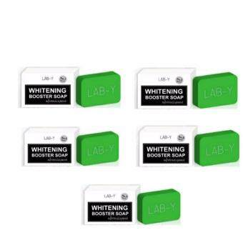 Harga Lab-Y Whitening Booster Soap 100 g.แพค 5 ก้อน