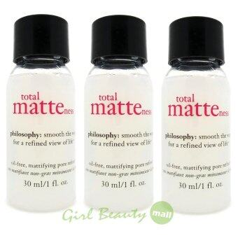 Harga PHILOSOPHY Total Matteness Oil-Free Mattifying Pore Refiner 30ml. X3 pcs.