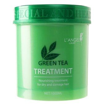 Harga L'ANGEL Green tea Hair Treatment 1000 ml.