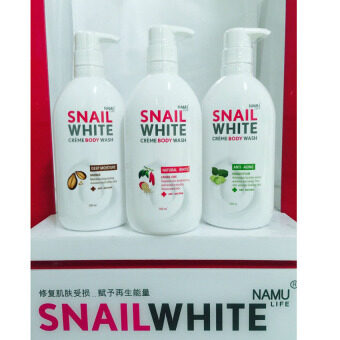 Harga SNAILWHITE CREAM BODY WASH บอดี้ วอช