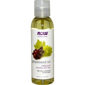 Harga Now Foods, Solutions, Grapeseed Oil, 4 fl oz (118 ml)