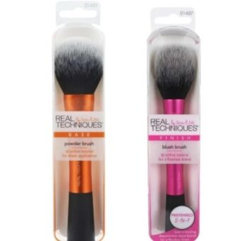 Harga Real Techniquesแปรงแต่งหน้าby Samantha Chapman Blush Brush + Powder Brush