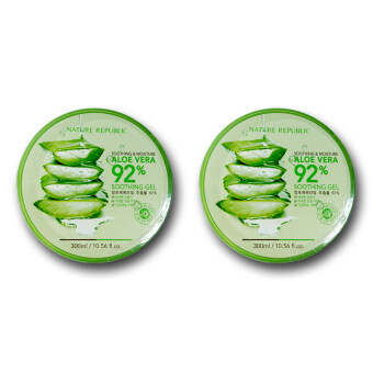 Harga Nature Republic Soothing & Moisture Aloe Vera 92% Soothing Gel ( 2 pc)