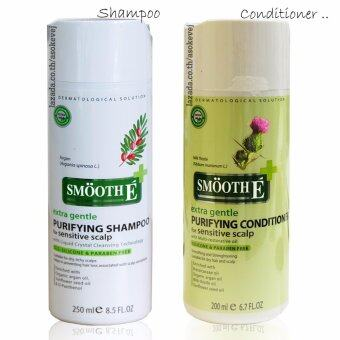 Harga Smooth E Purifying Shampoo 250 ml.+SMOOTH E PURIFYING CONDITIONER FOR SENSITIVE SCALP 200 ml.