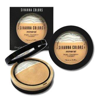 Harga Sivanna Bright Foundation Compact No.2 สำหรับผิวกลาง