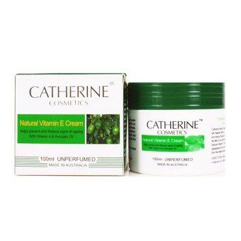 Harga CATHERINE COSMETICS NATURAL VITAMIN E CREAM 100 ml.
