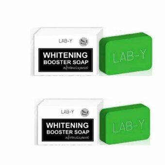 Harga Lab-Y Whitening Booster Soap 100 g.แพค 2 ก้อน