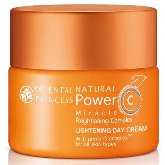 Harga Oriental Princess Natural Power C Miracle Brightening Complex Lightening Day Cream