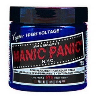 Harga MANIC PANIC CLASSIC CREAM SEMI PERMANENT HAIR COLOR CREAM (BLUE MOON) 118 ml 1 Jar