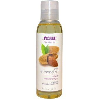 Harga Now Foods, Solutions, 100% Pure Moisturizing Almond Oil, 4 fl oz (118 ml)