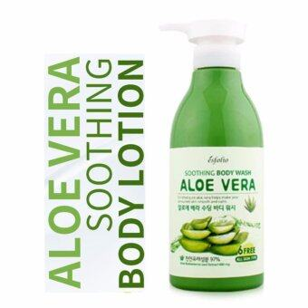 Harga Esfolio Aloe Vera Soothing Body Wash 500ml (1 ขวด)