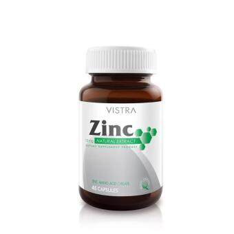 Harga VISTRA Zinc 15mg (45 Tablets)