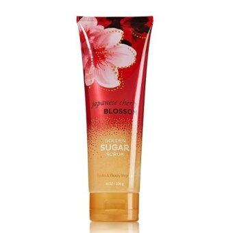 Harga Bath and Body Works Golden Sugar Scrub กลิ่น Japanese Cherry Blossom
