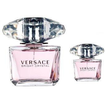 Harga VERSACE Bright Crystal EDT 90 ml + Versace Bright Crystal EDT 5 ml. พร้อมกล่อง